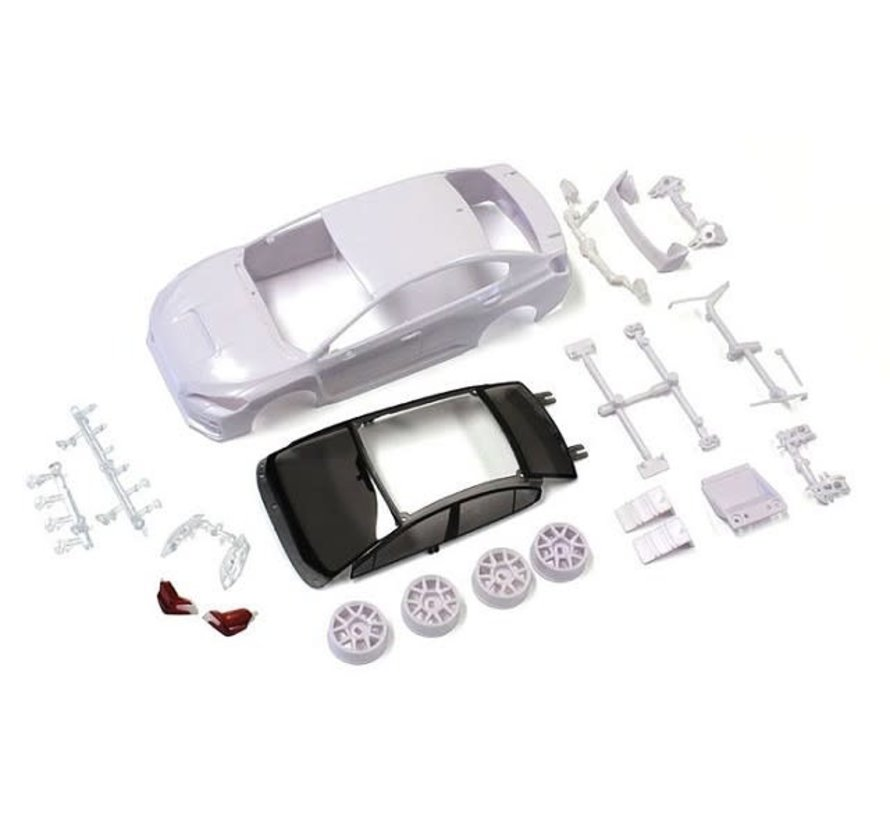 Kyosho (MZN185) SUBARU WRX STI White body set (w/Wheel)