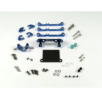 PN Racing PN Racing Mini-Z V3 MR03/PNR2.5W Double A-Arm Front Suspension (Blue) (MR3070B)