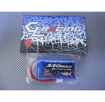 GL Racing GL Racing 2S 330mAh Lipo battery pack. (GBY001)