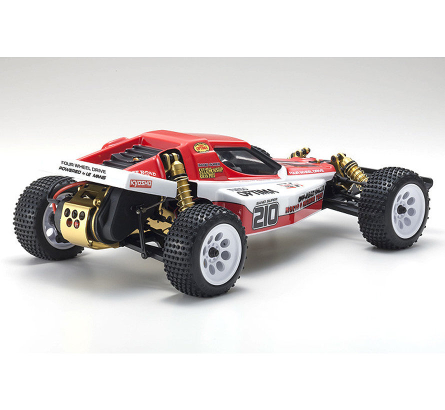 Kyosho 30619 Turbo Optima Gold Kit 4WD Retro Kit