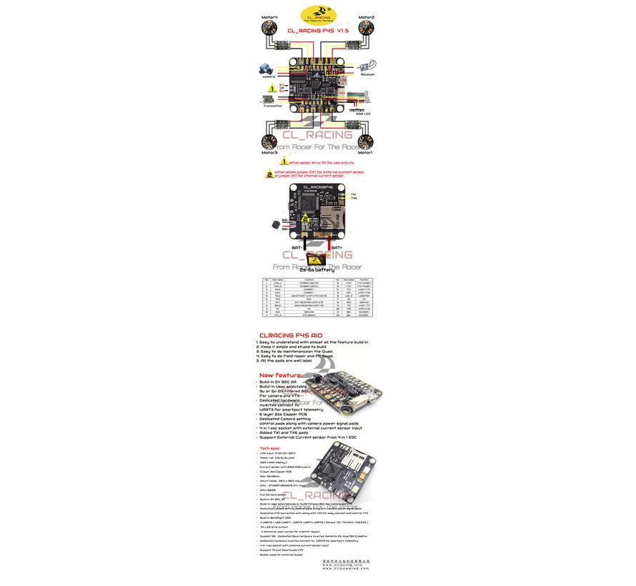 CL Racing F4S Flight Controller