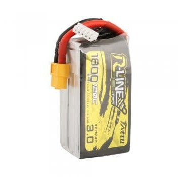 Tattu Tattu R-Line Version 3.0 1800mAh 14.8V 120C 4S1P Lipo Battery Pack with XT60 Plug
