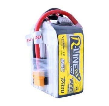 Tattu Tattu R-Line 22.2V 1800mah 6S 95C FPV Lipo Battery with XT60 Plug
