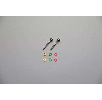 Kyosho Kyosho Mini-Z (MZW412) SP Long King Pin Ball Set (MR-03) MZW412