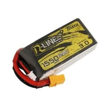 Tattu Tattu R-Line Version 3.0 1550mAh 14.8V 120C 4S1P Lipo Battery Pack