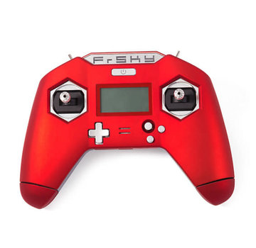 Frsky FrSky X-Lite Red Using 18650 Batteries with Case FCC Version