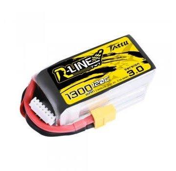 Tattu Tattu R-Line V3 1300mAh 120c 6S Lipo Battery