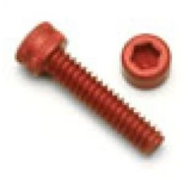 ExcelRC Socket Top Screw M3 Red 8mm