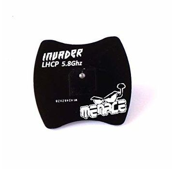 Menace RC Invader Antenna 5.8Ghz Polarized Receiver Patch Menace RC LHCP SMA Normal