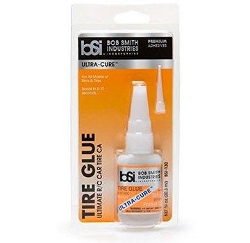 BSI ExcelRC Ultra-Cure Tire Glue Medium Thin CA W/Pin In Cap ¾ oz