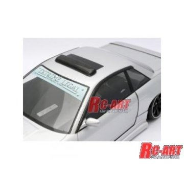 RC Art RC Art (ART6021) Roof Visor and Door Visors SET TYPE-2.