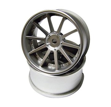 Top Line Top Line (NFW-080MS) NF WHEEL OFFSET-8 MATTE SILVER