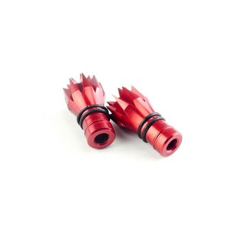 RushFPV 3D Color Stick Ends for Frsky X-Lite (2pcs) - Red
