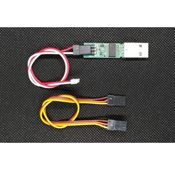 DasMikro DasMikro DSK-136 I.C.S. ICS USB Adaptor HS For Kyosho Mini-Z Fpr EVO