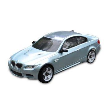 iWaver Mini-Z Body BMW M3 Style Silver Blue 102MM Body Only