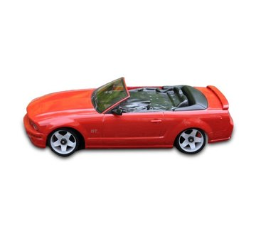 iWaver Mini-Z Body Mustang Convertible 5.0 Style Red 98MM Body Only