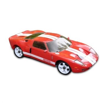 iWaver Mini-Z Body Ford GT Style Red 98MM Body Only
