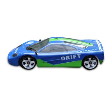 iWaver Mini-Z Body Ford Mclaren F1 Style Blue and Green Drift 98MM Body Only