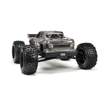 Arrma ARRMA 1/8 Outcast 6S 4WD BLX Stunt Truck Silver