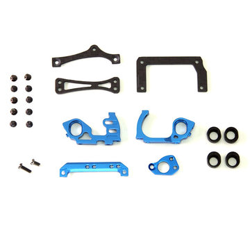 PN Racing PN Racing (MR3300B) Mini-Z V5 LCG 98mm Motor Mount (Blue)