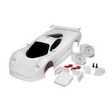 Technical Racing Products (TRP) TRP Mini-Z Mosler MT900 R White Body Set (SCB001)