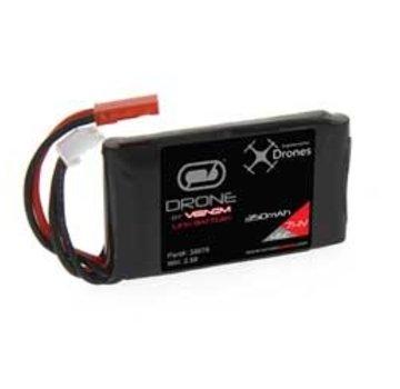 Venom Venom 45C 7.4V 350mAh 2S LiPo Drone Battery:JST Plug