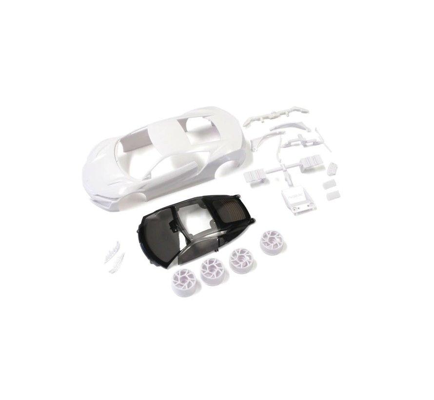 Kyosho Mini-Z MZN186 Honda NSX White body set (w/Wheels)