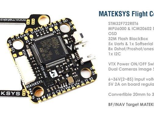Matek Matek F722-Mini Flight Controller