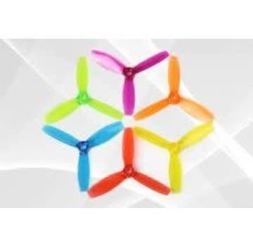 DYS DYS XT2030 3 BLADE PROPELLERS 2030 T2030 4CW 4CCW Purple