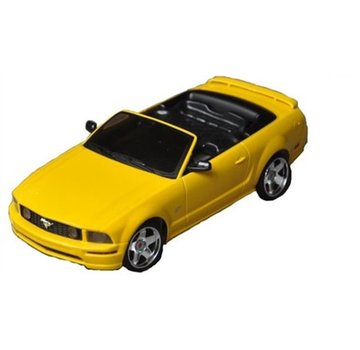 iWaver Mini-Z Body Mustang Convertible 5.0 Style Yellow 98MM Body Only