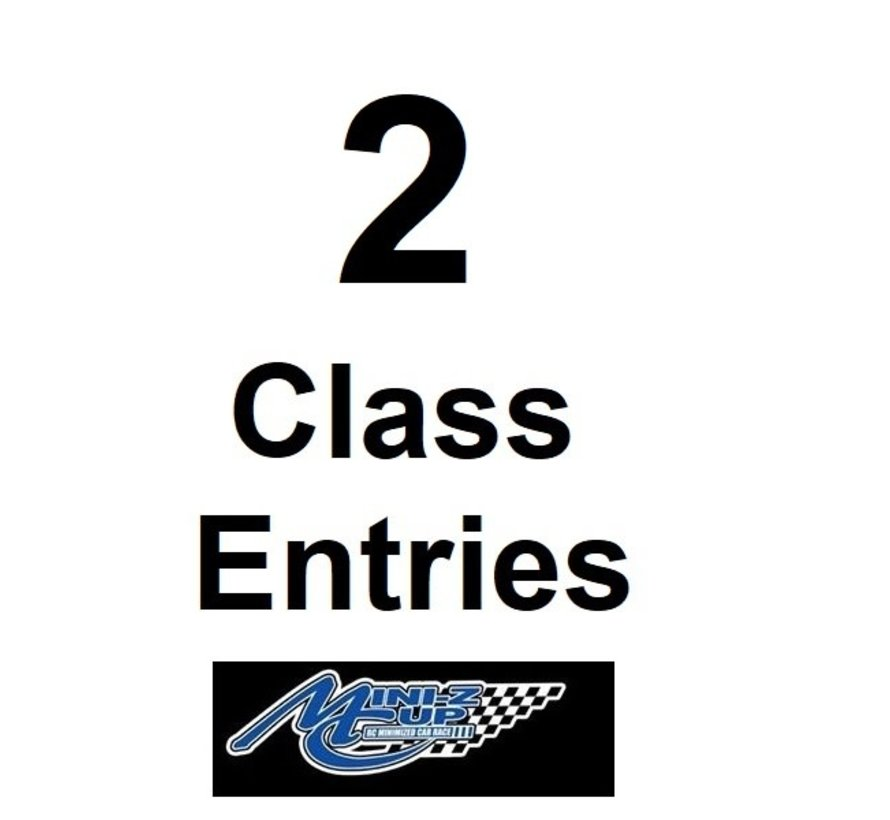 Kyosho Cup 2 Class Entries