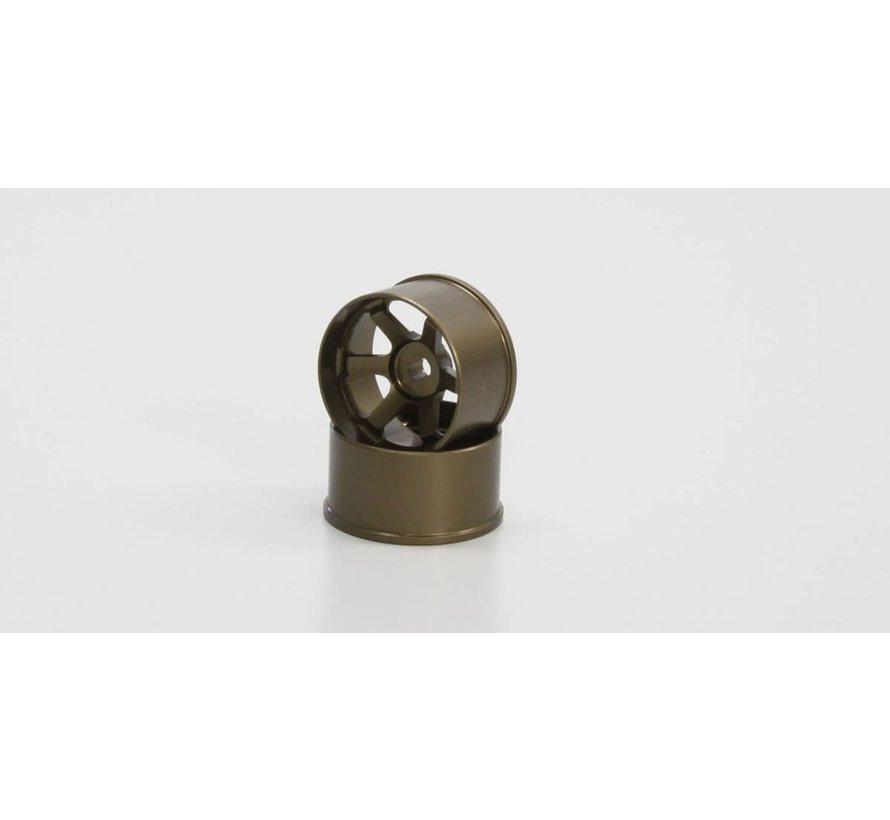 Kyosho Mini Z R246-1493 TE37 Wheel Wide Off-Set 3.0mm Bronze
