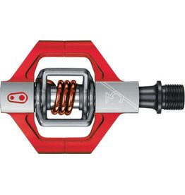 Crankbrothers Candy 3, Silver/Red