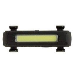 Serfas Thunderbolt Strip USB Headlight, Black