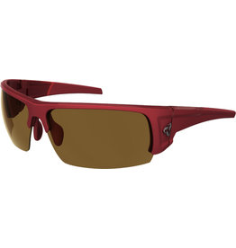 Ryders Caliber Poly, Dark Red/Xtal Lens