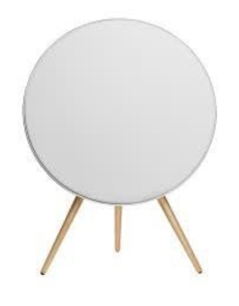 B&O B&O Beoplay A9 Speaker - White - Maple Wooden Legs & White Cover