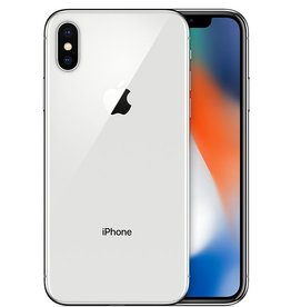 Apple iPhone X 256GB - Silver - 1 Yr Wty
