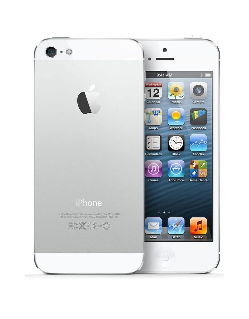 Apple iPhone 5 32gb / Silver - 3 Mth Wty