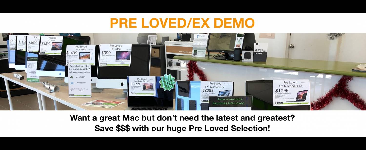 Save $$$ with Apple Pre Loved!