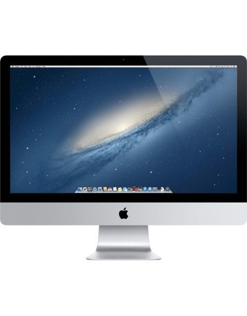 Apple iMac 27-inch Retina (Late 2012) - 3.2GHz QC i5 / 16GB / 1TB HDD / 1GB NVIDEA GEForce GTX 675Mx - Pre Loved - 1 Year Wty