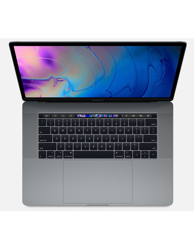 "Apple MacBook Pro 15"" - 2.6GHz 6-core i7 / 16GB / 256GB SSD/ 4GB Radeon Pro 555X / Touch Bar - Space Grey - 2019"