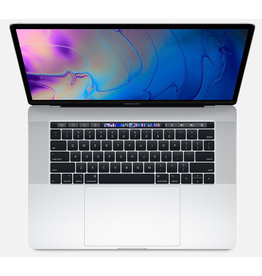 "Apple MacBook Pro 15"" - 2.6GHz 6-core i7 / 16GB / 256GB SSD/ 4GB Radeon Pro 555X / Touch Bar - Silver - 2019"