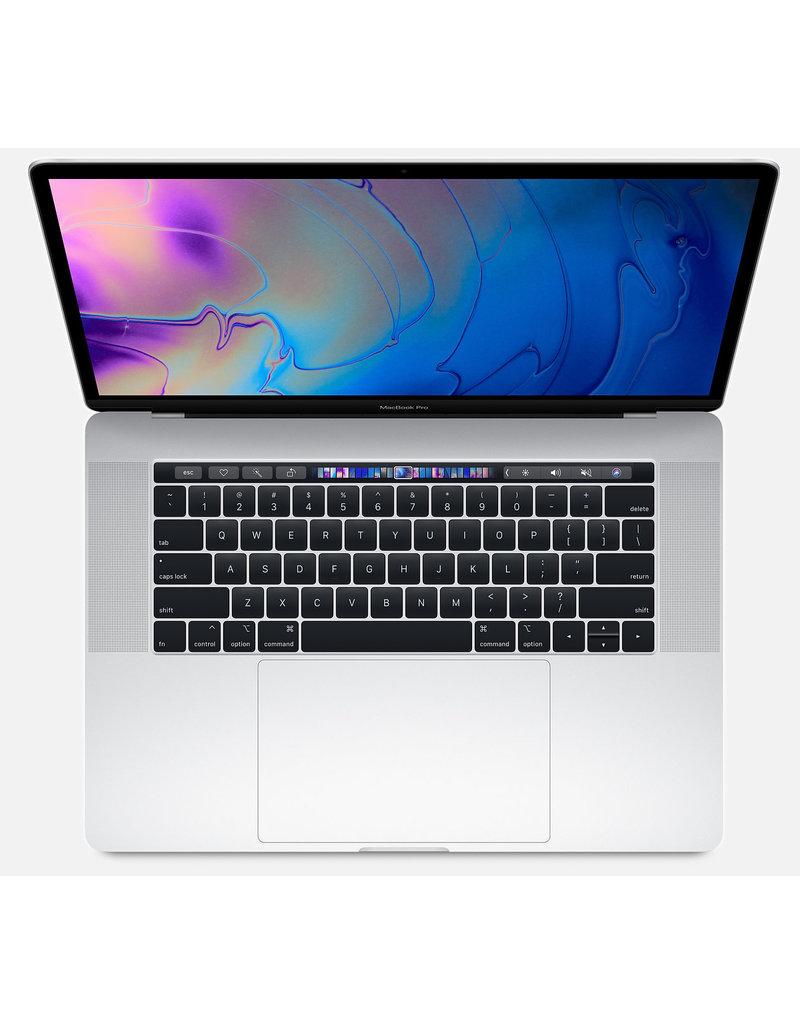 "Apple MacBook Pro 15"" - 2.6GHz 6-core i7 / 16GB / 256GB SSD/ 4GB Radeon Pro 555X / Touch Bar - Silver - 2019"