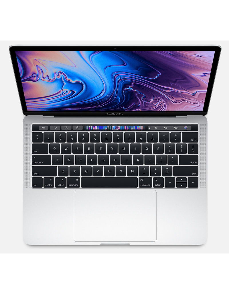 "Apple MacBook Pro 13"" - 2.4GHz QC i5 / 8GB / 512GB SSD/ Intel Iris Pro 655/ Touch Bar - Silver - 2019"