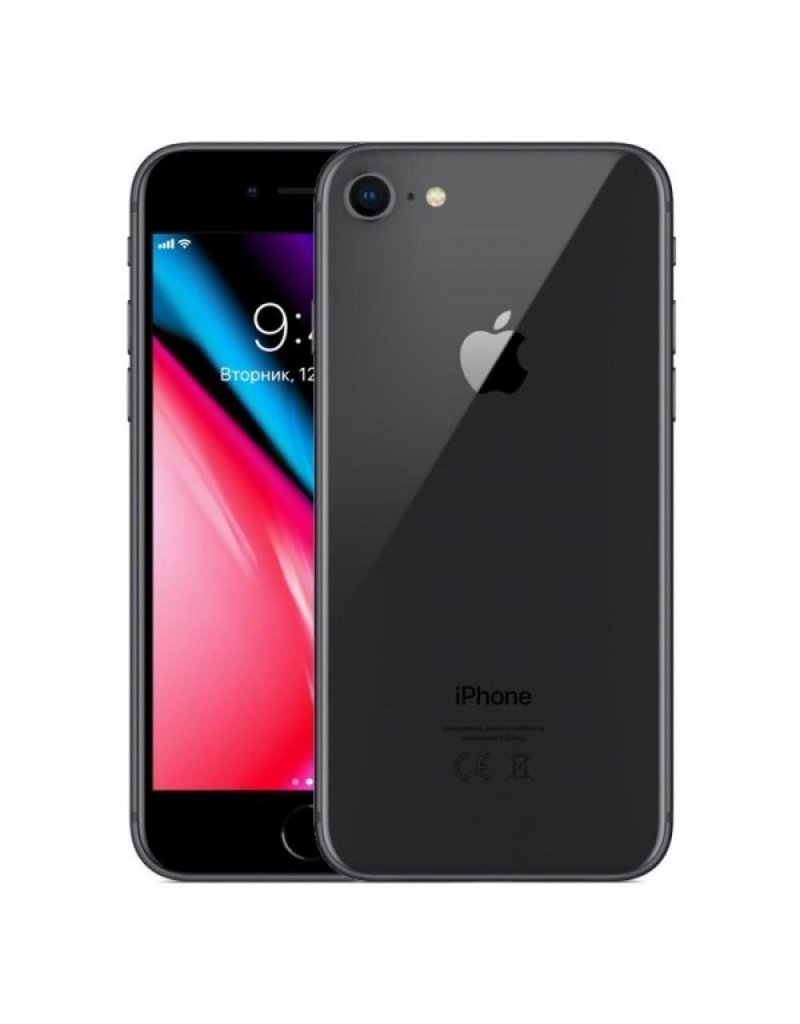 Apple iPhone 8 / 64GB / Space Grey / Pre Loved - 1 Year Warranty