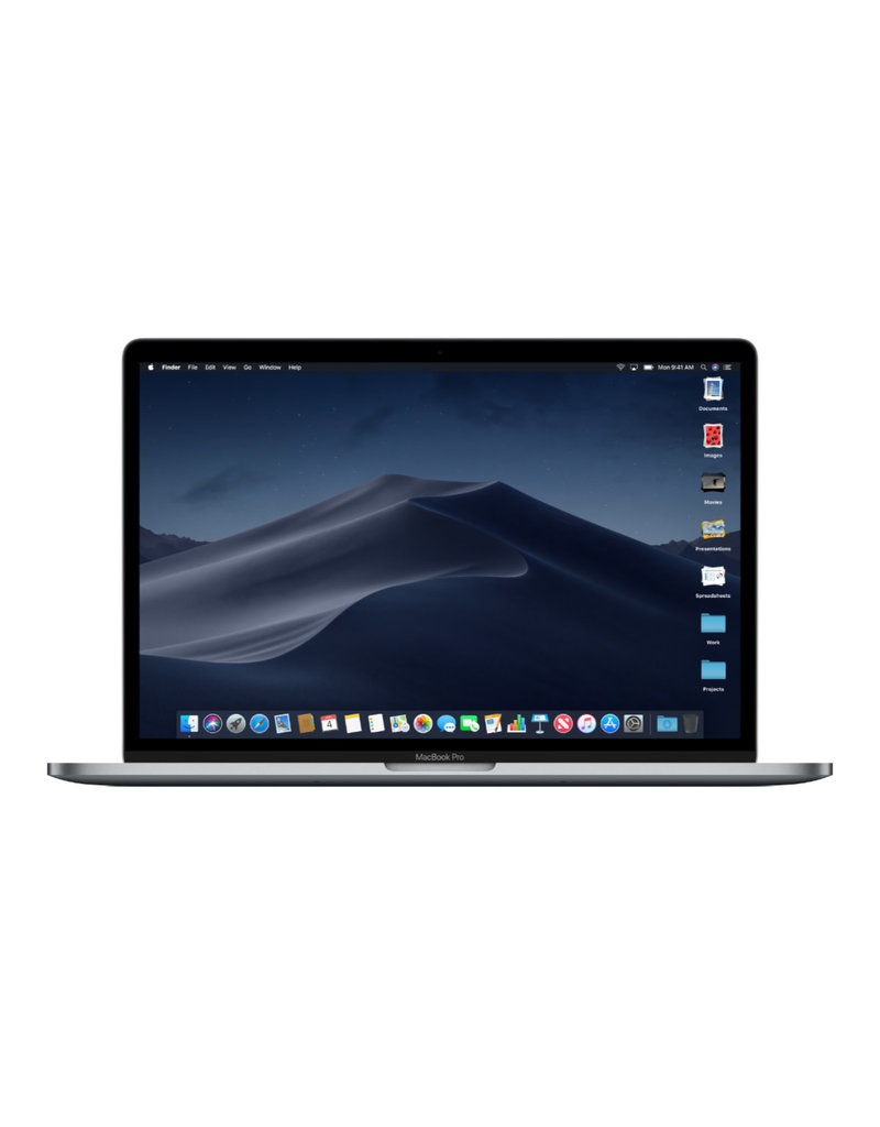 Apple MacBook Pro (15-inch Retina, Early 2015) - 2.2GHz QC i7 / 16GB RAM / 256GB SSD / Preloved / 1 Year Warranty
