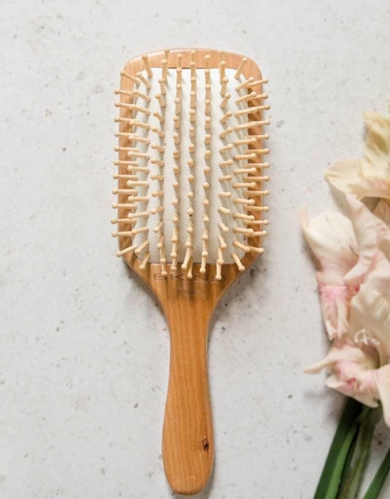BKIND Brosse à cheveux bambou