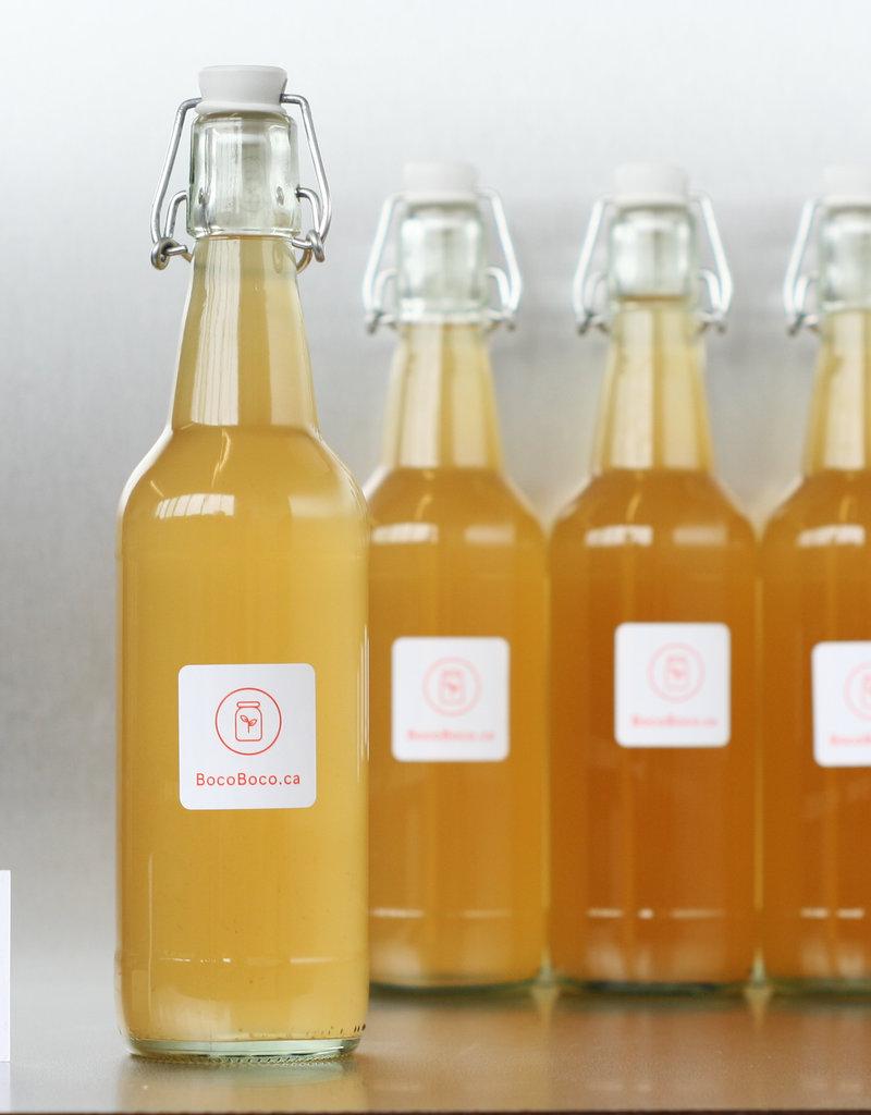 Olive Pressée Vinaigre de cidre de pommes - Biologique (250ml, 500ml et 1L)