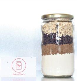 Les Ah de Line Préparation pour biscuits avoine et chocolat (pour 20 biscuits)