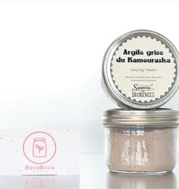 Savonnerie des Diligences Argile grise Kaolin du Kamouraska (100gr)